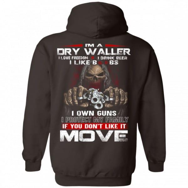 I'm A Dry Waller I Love Freedom I Drink Beer I Like Boobs Shirt, Hoodie, Tank Apparel 9