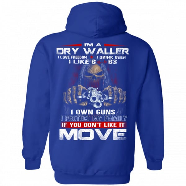 I'm A Dry Waller I Love Freedom I Drink Beer I Like Boobs Shirt, Hoodie, Tank Apparel 10