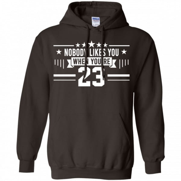 Nobody Likes You When You're 23 Shirt, Hoodie, Tank Best Selling 9