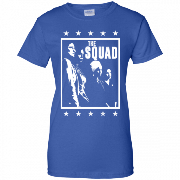 Squad AOC Rashida Tlaib ILhan Omar Ayanna Pressley Shirt, Hoodie, Tank