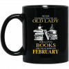An Old Lady Who Loves Books And Was Born In January Mug