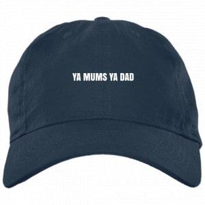 Ya Mums Ya Dad Hat Black Dad Hat Hat 2