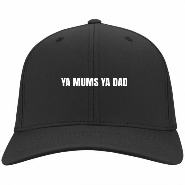 Ya Mums Ya Dad Hat Black Dad Hat Hat 4