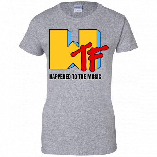 WTF Happend To The Music Shirt, Hoodie, Tank New Designs 12
