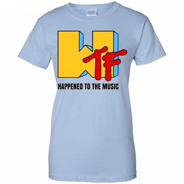 WTF Happend To The Music Shirt, Hoodie, Tank New Designs 14