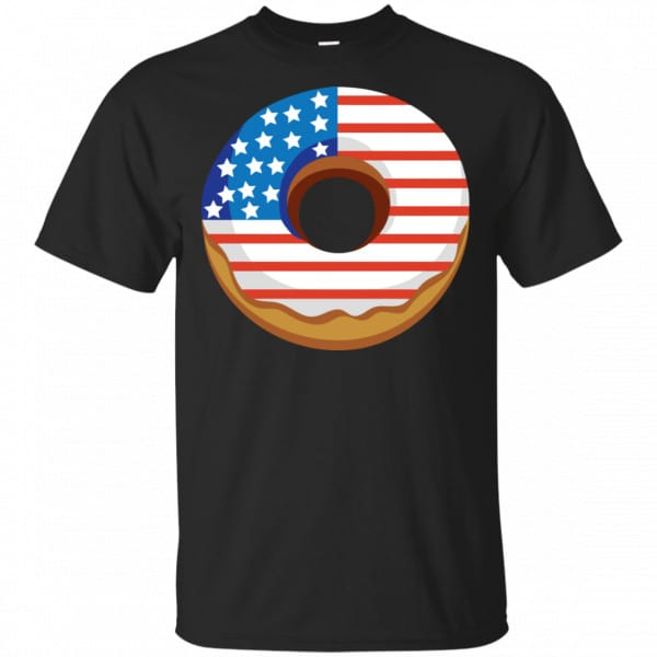 4Th Of July Donut America Flag Shirt, Hoodie, Tank Apparel 3
