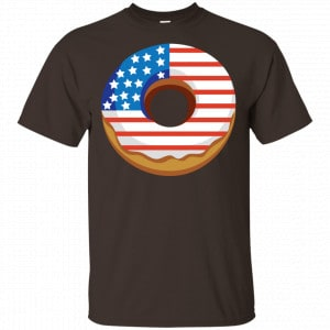 4Th Of July Donut America Flag Shirt, Hoodie, Tank Apparel