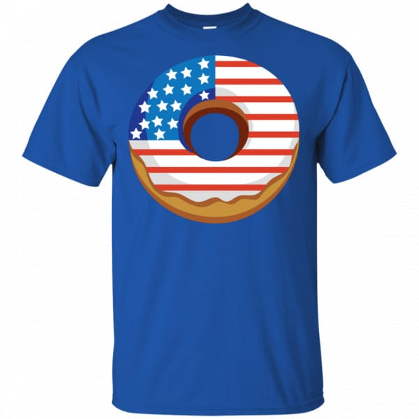 4Th Of July Donut America Flag Shirt, Hoodie, Tank Apparel 5