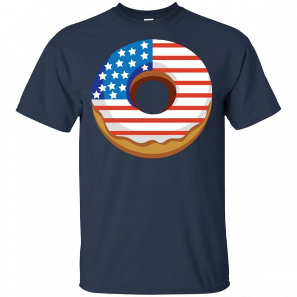 4Th Of July Donut America Flag Shirt, Hoodie, Tank Apparel 6