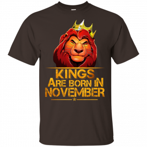 Lion King Are Born In November Shirt, Hoodie, Tank