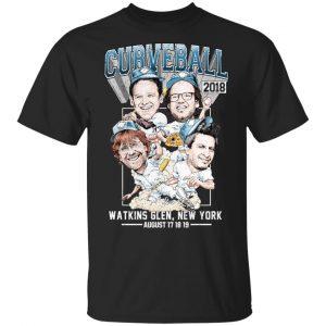 Curveball Shirt, Hoodie, Tank Apparel