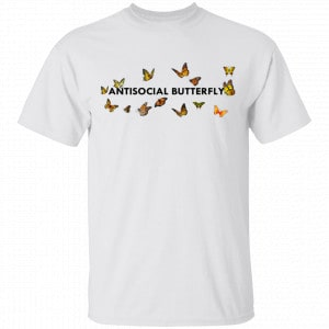 Antisocial Butterfly Shirt, Hoodie, Tank New Designs