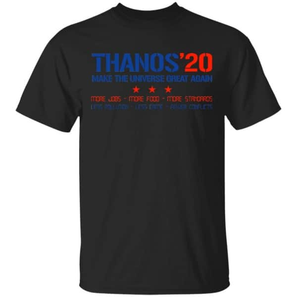 Thanos 2020 Make The Universe Great Again Shirt, Hoodie, Tank Apparel 3