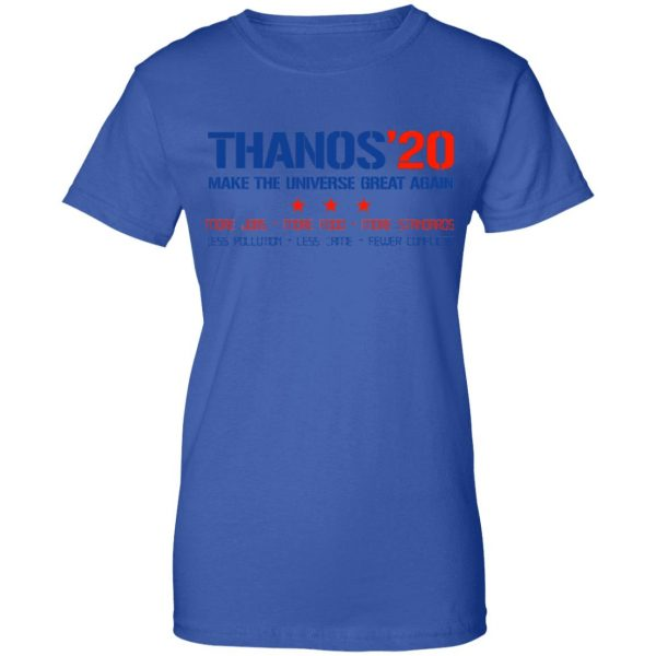 Thanos 2020 Make The Universe Great Again Shirt, Hoodie, Tank Apparel 14