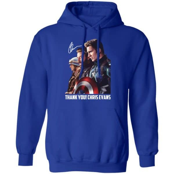 Captain America Thank You Chris Evans Signature Shirt, Hoodie, Tank