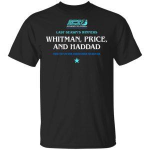Running Man Whitman, Price, and Haddad Shirt, Hoodie, Tank