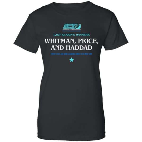 Running Man Whitman, Price, and Haddad Shirt, Hoodie, Tank New Designs