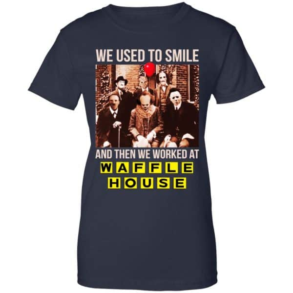 We Used To Smile And Then We Worked At Waffle House Halloween Shirt, Hoodie, Tank