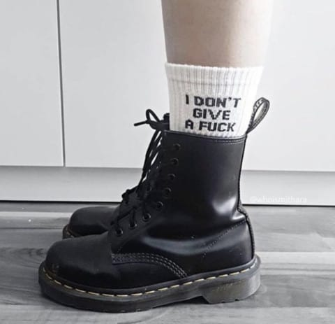 """Fuck Off"" Socks Socks"