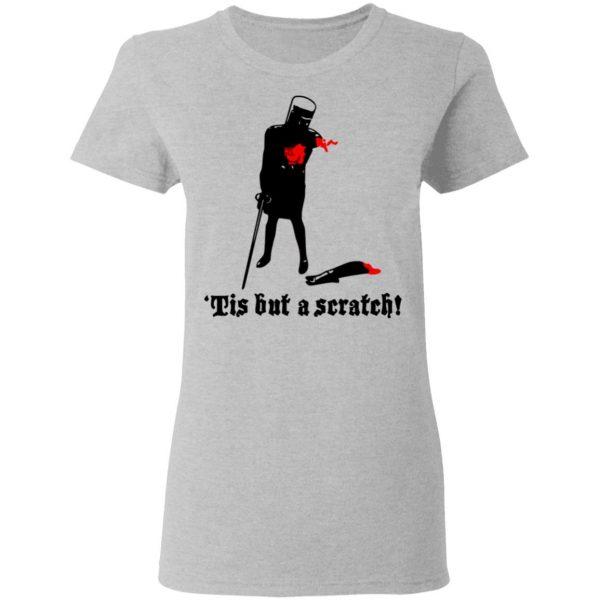 Tis But A Scratch Monty Python Viny Shirt, Hoodie, Tank