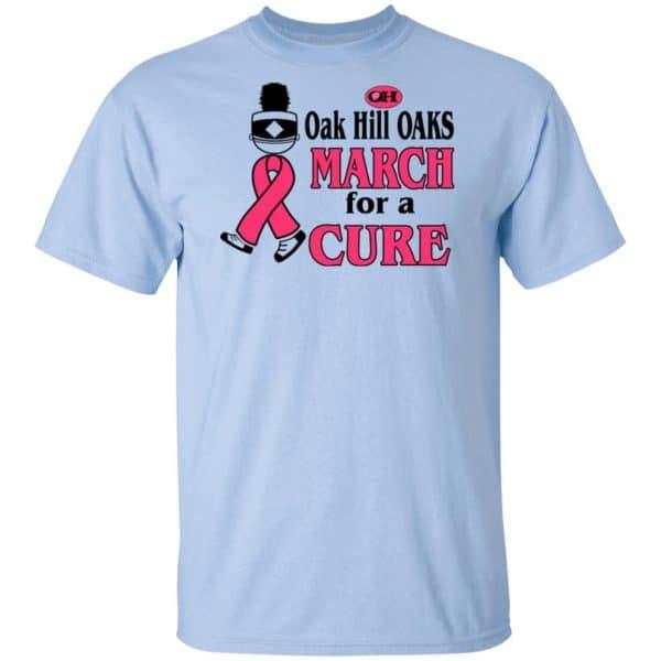 Oak Hill Oaks March For A Cure Shirt, Hoodie, Tank