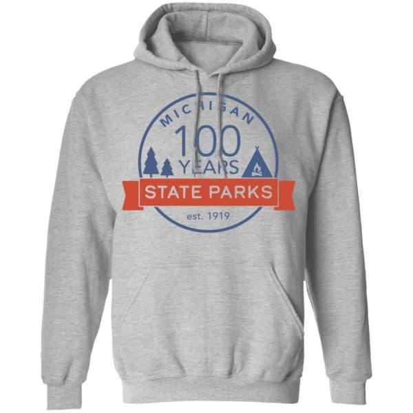 Michigan State Parks Centennial Shirt, Hoodie, Tank