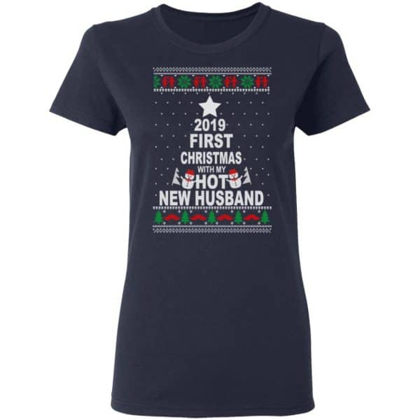 2019 First Christmas With My Hot New Husband Shirt, Hoodie, Tank Apparel
