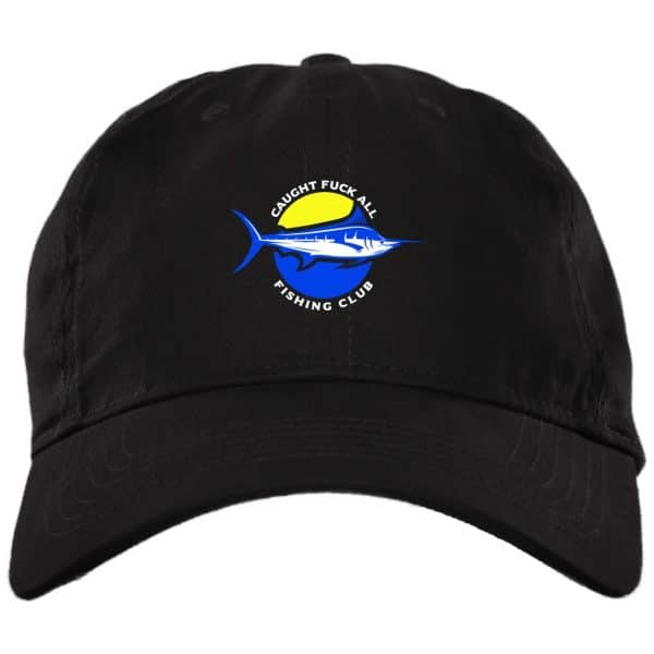 Caught Fuck All Fishing Club Funny Hat Best Selling 3