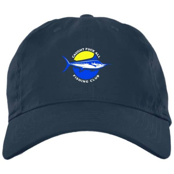 Caught Fuck All Fishing Club Funny Hat Best Selling 4