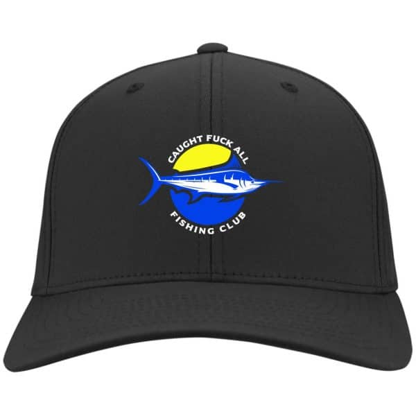Caught Fuck All Fishing Club Funny Hat Best Selling 5