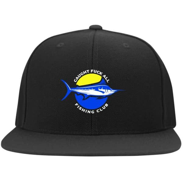 Caught Fuck All Fishing Club Funny Hat Best Selling 6