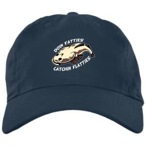 Doing Fatties Catching Flatties Funny Hat