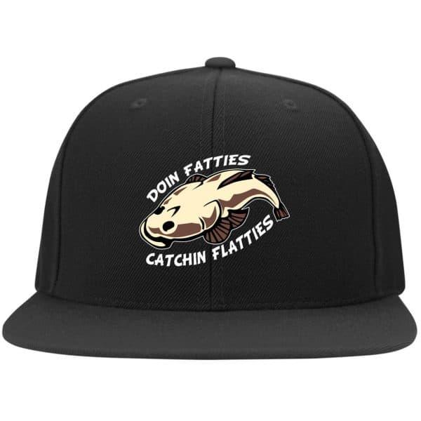 Doing Fatties Catching Flatties Funny Hat Hat 6