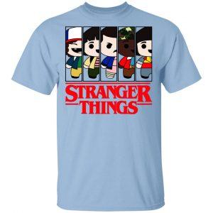 Stranger Things Cartoon Pattern Shirt, Hoodie, Tank Apparel
