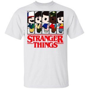 Stranger Things Cartoon Pattern Shirt, Hoodie, Tank Apparel 2