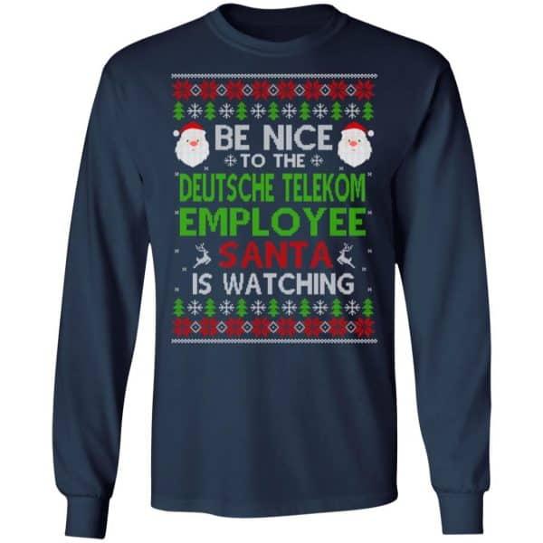 Be Nice To The Deutsche Telekom Employee Santa Is Watching Christmas Sweater, Shirt, Hoodie Christmas 6