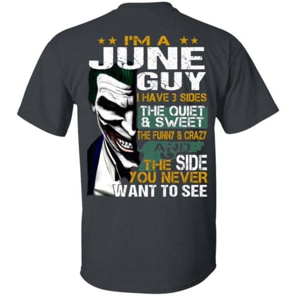 Joker June Guy Have 3 Sides The Quiet And Sweet Shirt, Hoodie, Tank Birthday Gift & Age 4