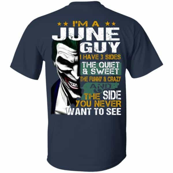 Joker June Guy Have 3 Sides The Quiet And Sweet Shirt, Hoodie, Tank Birthday Gift & Age 5