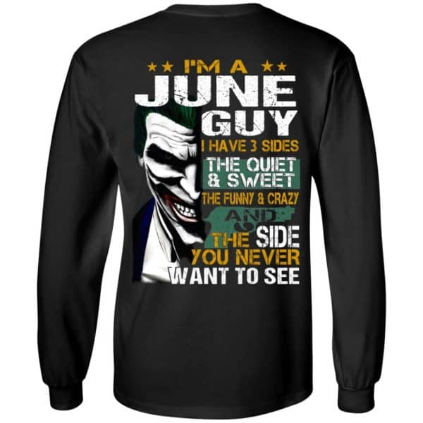 Joker June Guy Have 3 Sides The Quiet And Sweet Shirt, Hoodie, Tank Birthday Gift & Age 7