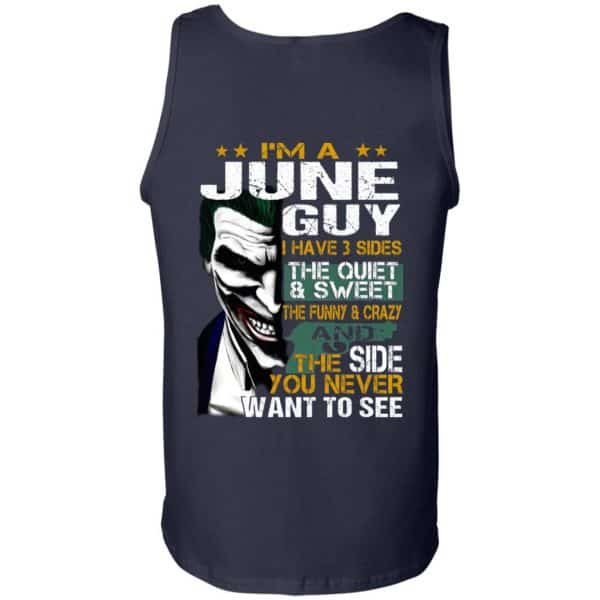 Joker June Guy Have 3 Sides The Quiet And Sweet Shirt, Hoodie, Tank Birthday Gift & Age 14