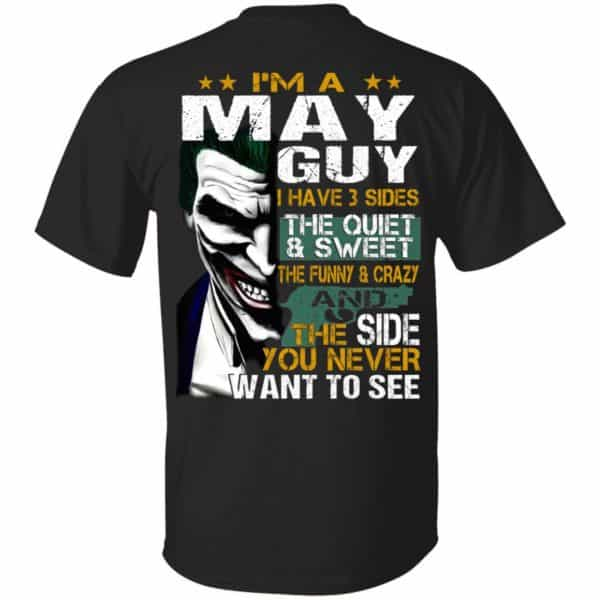 Joker May Guy Have 3 Sides The Quiet And Sweet Shirt, Hoodie, Tank Birthday Gift & Age 3