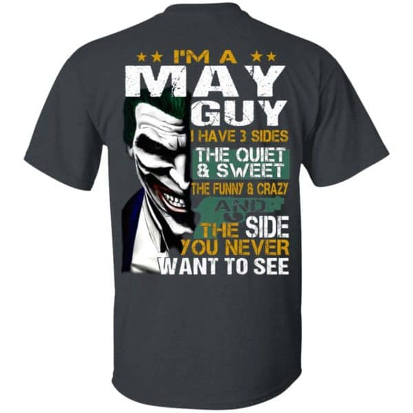 Joker May Guy Have 3 Sides The Quiet And Sweet Shirt, Hoodie, Tank Birthday Gift & Age 4