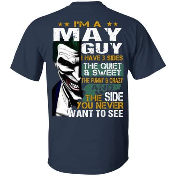 Joker May Guy Have 3 Sides The Quiet And Sweet Shirt, Hoodie, Tank Birthday Gift & Age 5