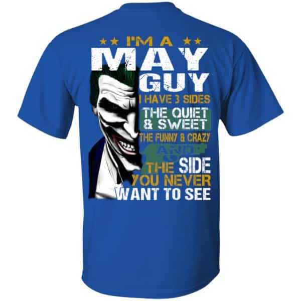 Joker May Guy Have 3 Sides The Quiet And Sweet Shirt, Hoodie, Tank Birthday Gift & Age 6