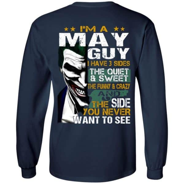 Joker May Guy Have 3 Sides The Quiet And Sweet Shirt, Hoodie, Tank Birthday Gift & Age 8