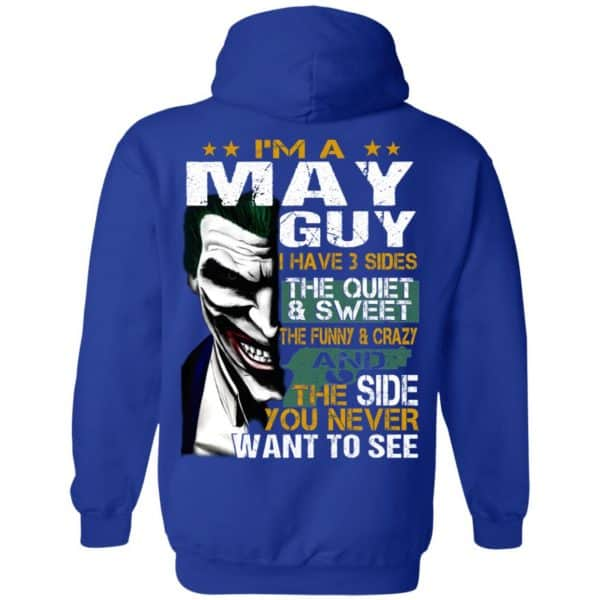 Joker May Guy Have 3 Sides The Quiet And Sweet Shirt, Hoodie, Tank Birthday Gift & Age 12