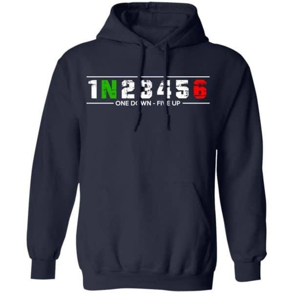1 N 2 3 4 5 6 One Down Five Up Shirt, Hoodie, Tank Apparel