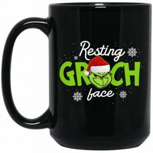 The Grinch Resting Grinch Face Mug Coffee Mugs