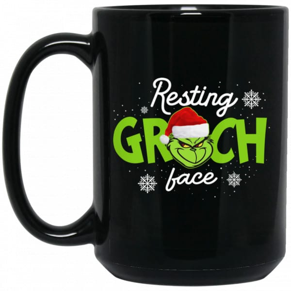 The Grinch Resting Grinch Face Mug