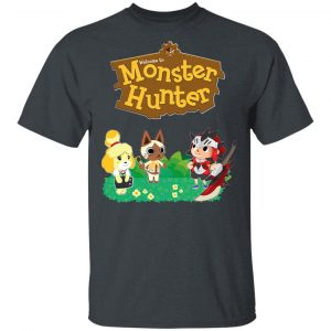 Welcome To Monster Hunter Shirt, Hoodie, Tank Apparel 2